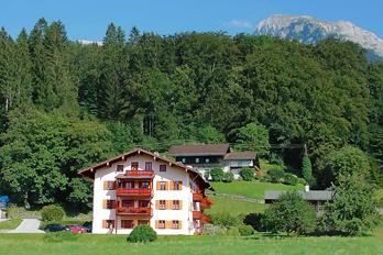 3 apartments for 2-4 persons at lake Koenigssee in Bavaria/Germany