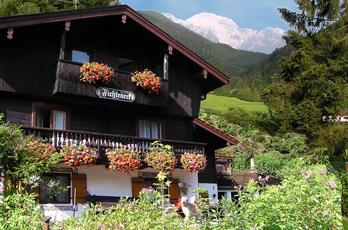 Accommodation at the Königssee - Take a short-term vacation in a holiday apartment in the guesthouse Fichteneck in Berchtesgaden am Koenigssee